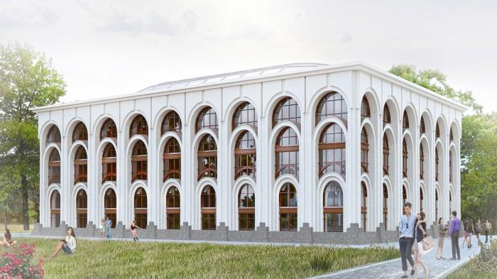 Проект здания частной клиники в Воронеже