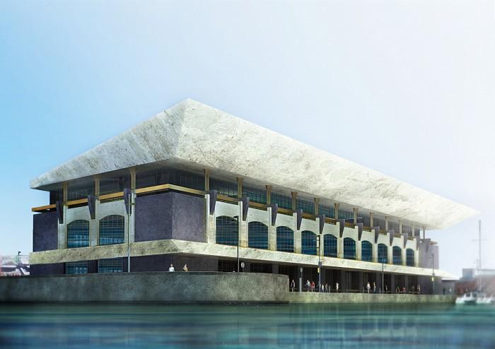 Проект здания «Порт Севкабель» в Петербурге