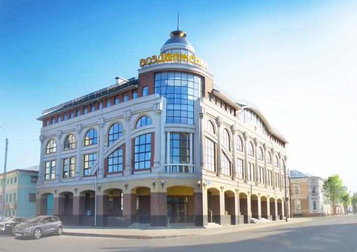 Проект здания ТЦ в Иваново