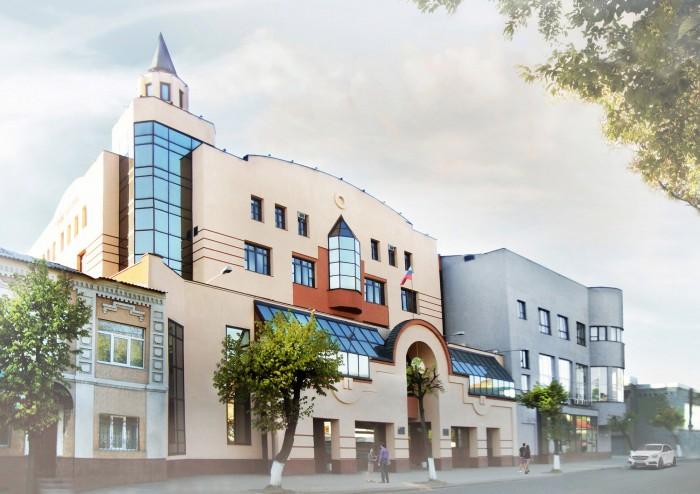 Проект здания Банка в Иваново