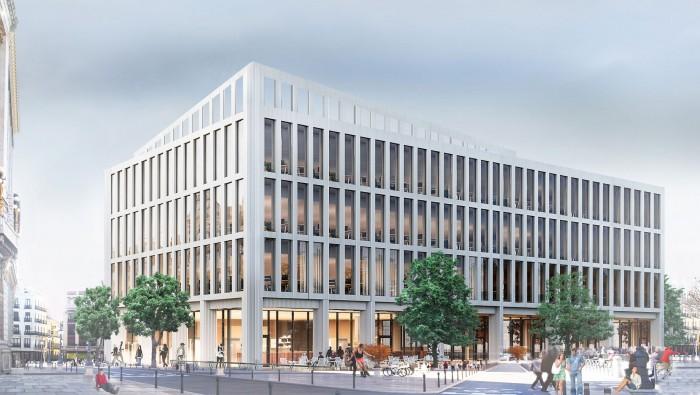 Проект административного здания в Краснодаре