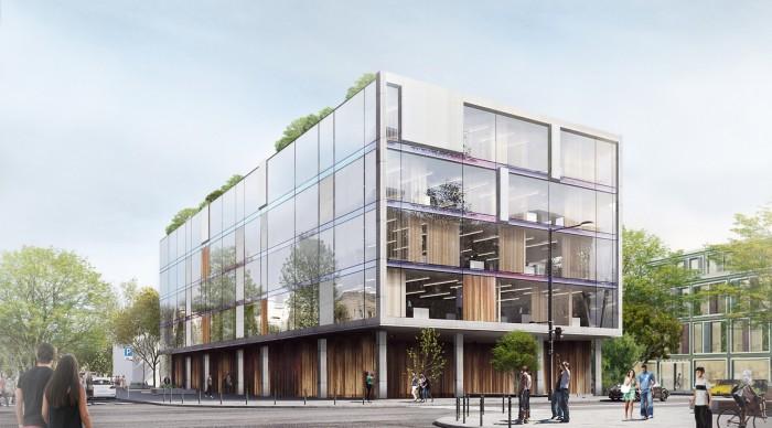 Проект офисного здания в Москве