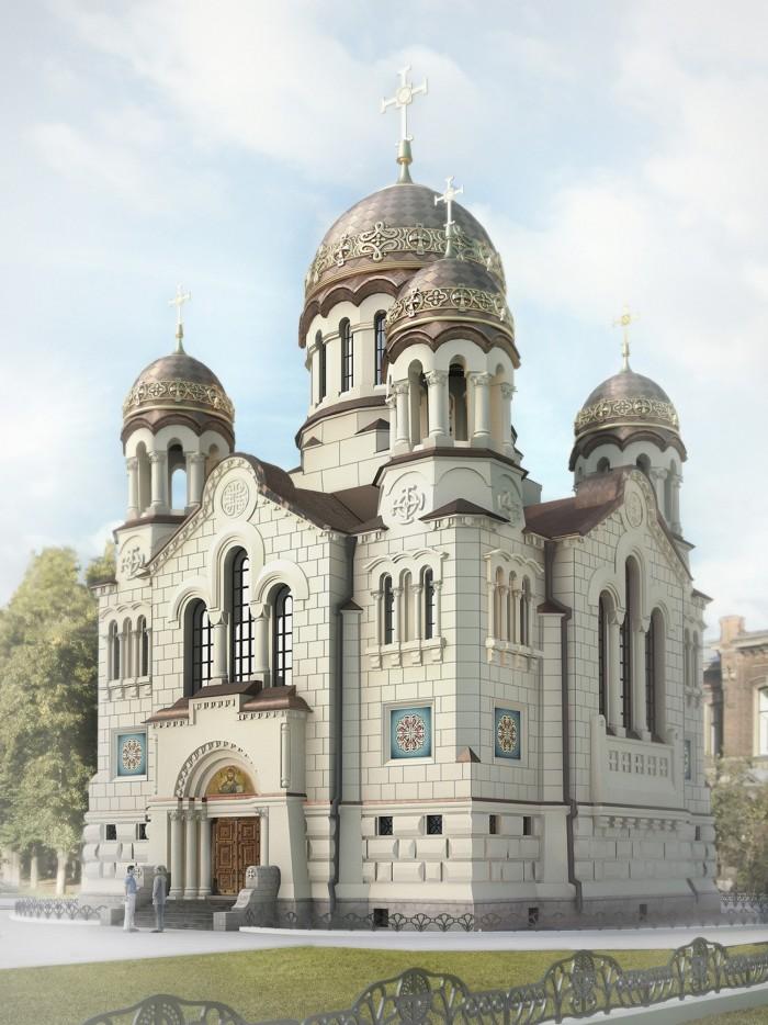 Проект воссоздания Храма Спаса в Иваново